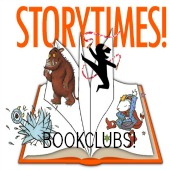 storytimes and bookclubs